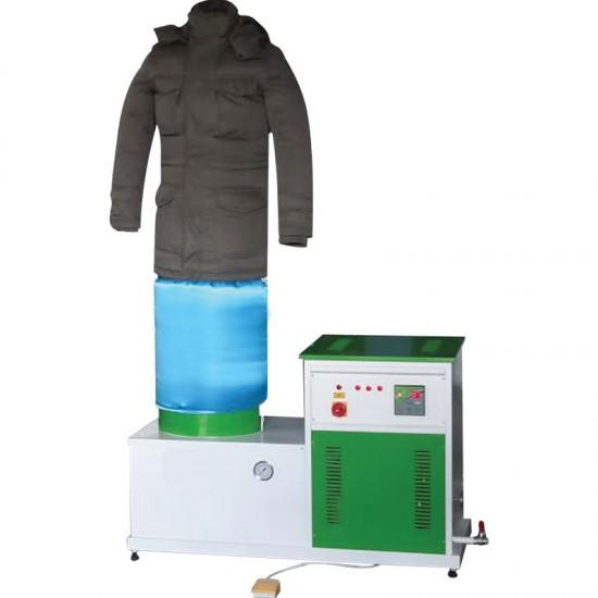 Kendinden Kazanlı Mont şişirme Makinası